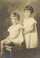 Gladys and Thelma Harner