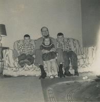 Kenneth, Granddad Norman Nyce, Sheila and David